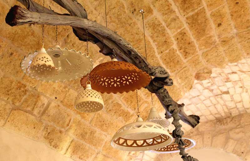 Illuminazione in ceramica