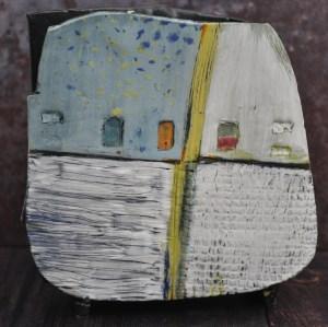 square vase front