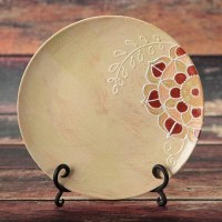 Ceramic Bisque Coupe Dinner Plate- Case of 12