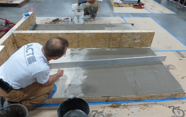 wall flat enough for large format tile
