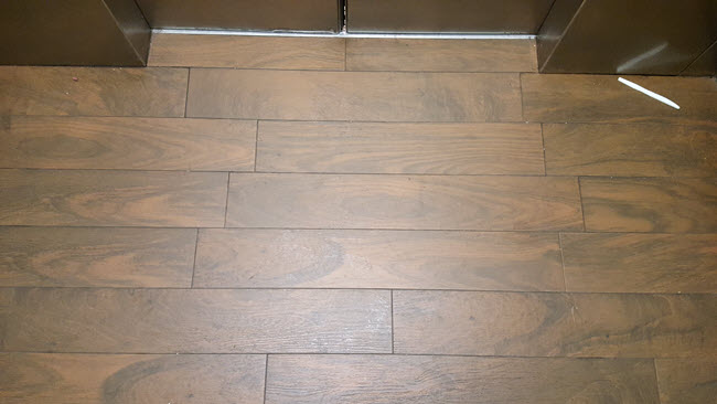 offsets grout joints and customer