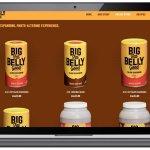Cerberus - Big Fat Belly Good - Website Design