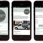 Cerberus - Young's Dry Cleaning - Mobile Website Design