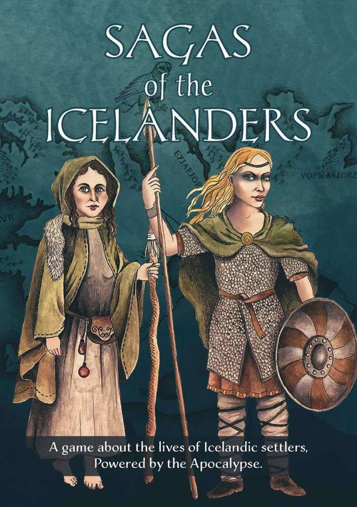 La copertina di Sagas of the Icelanders