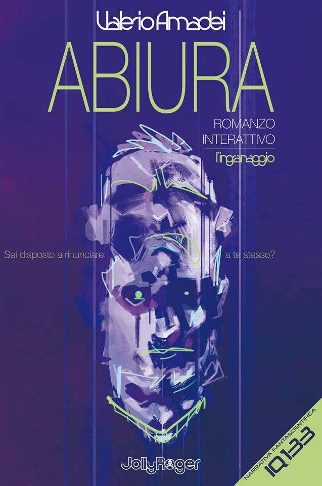 Copertina del romanzo interattivo di Valerio Amedei