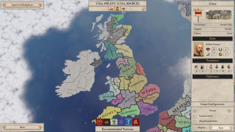 E siamo pronti ad interpretare gli Irlandesi!
