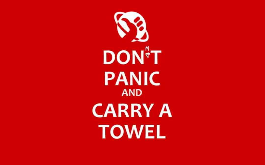 Towel Day – Portate sempre un asciugamano.