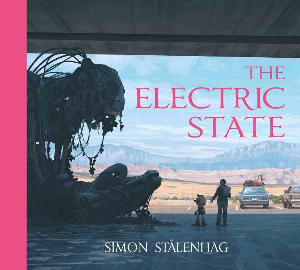 Uno dei libri illustrativi di Simon Stalenhag