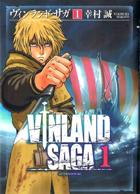 La copertina del primo volume di Vinland Saga