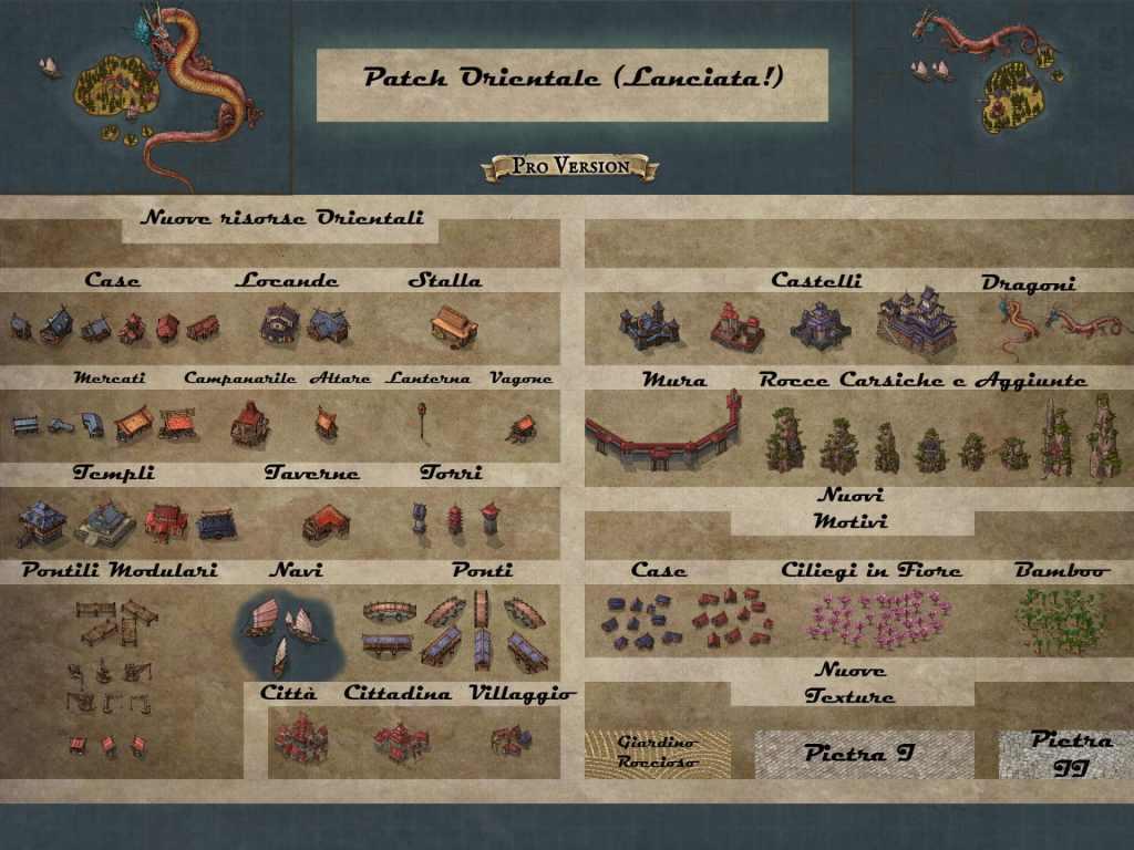 Una traduzione delle ultime novità della patch per mappe orientali di Inkarnate