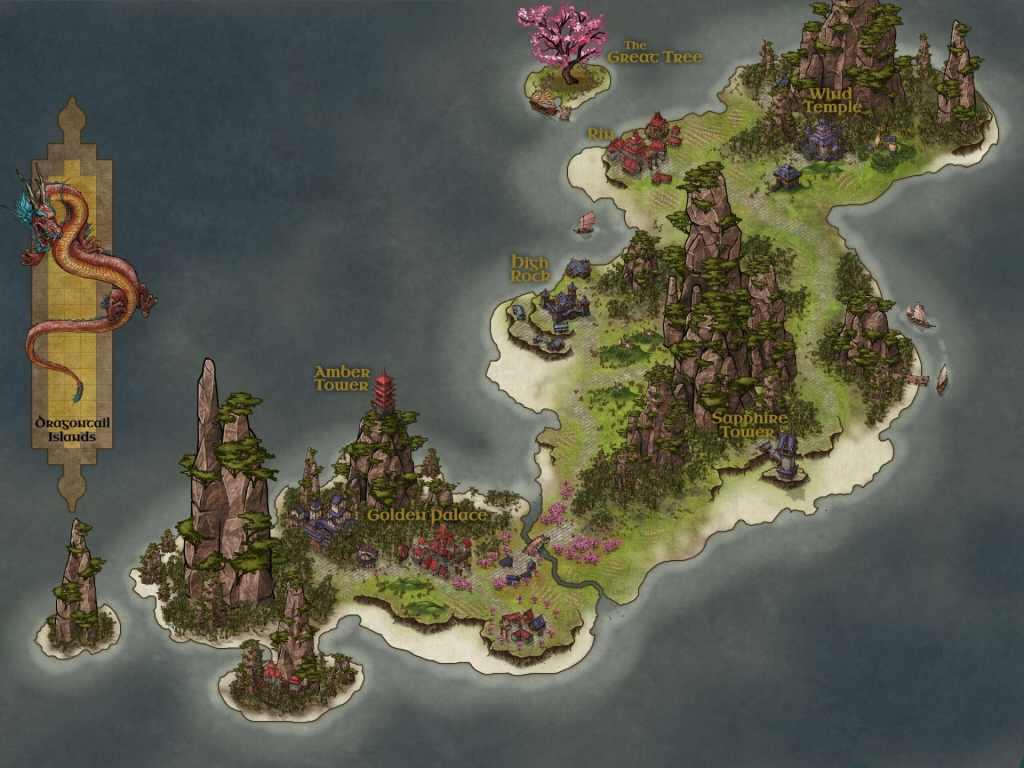 Una mappa insulare creata da Mati