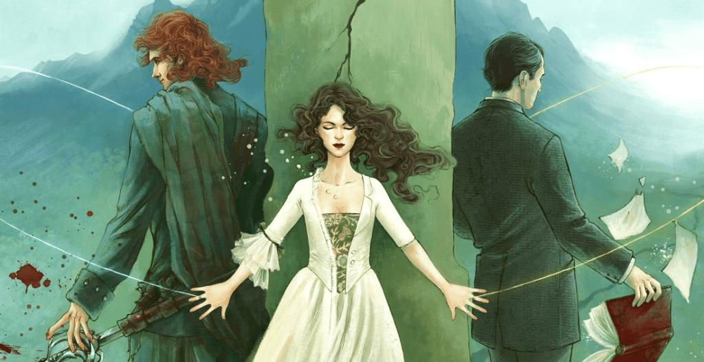 Fanart di Outlander della fanartist Joaellaine
