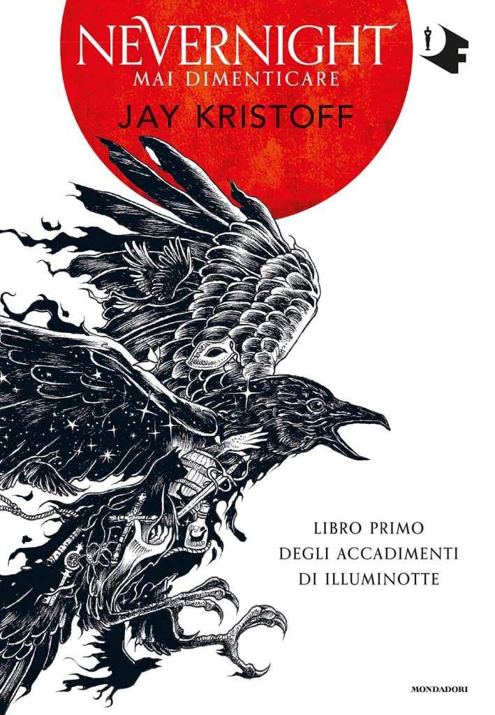 La copertina italiana di Nevernight, edito da Mondadori