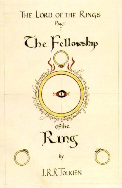 La copertina dell'edizione originale de La compagnia dell'anello
