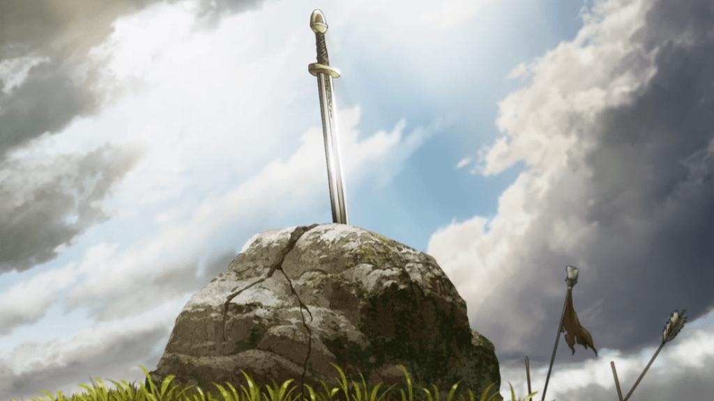 Excalibur in Vinland Saga Episodio 12
