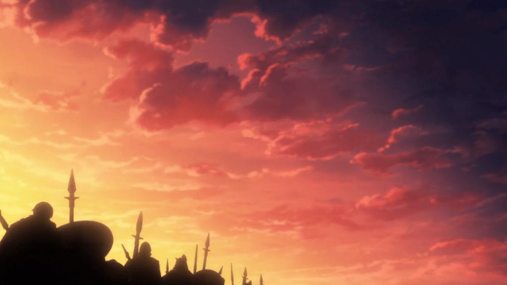 Marciare, marciare, e ancora marciare in Vinland Saga Episodio 12