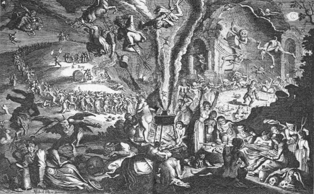 Gioco di ruolo durante la notte di Valpurga
