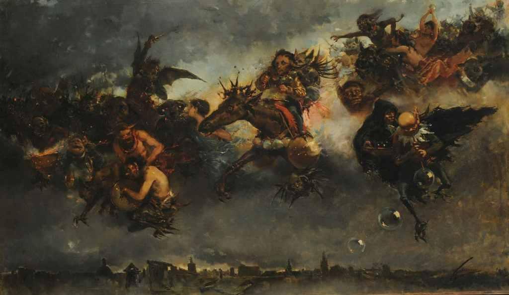 La Notte di Valpurga nella letteratura