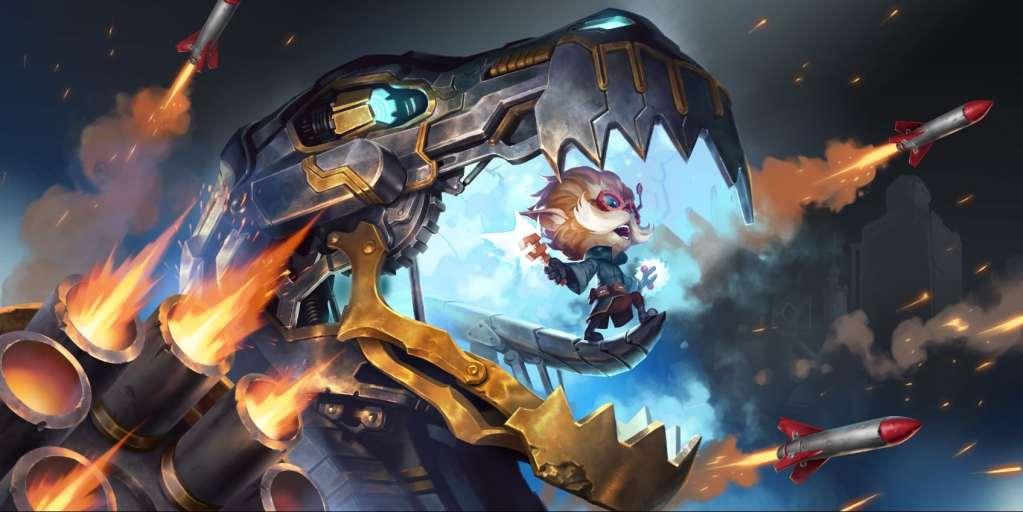 Un'altra immagine sobria della Riot Games