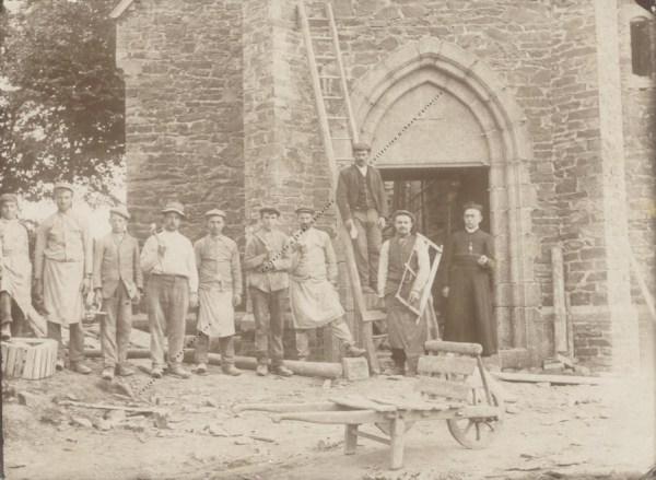 Bougnimont - Eglise - Détails construction - Collection Christian Giboux