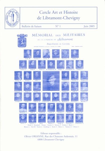 Bulletin de liaison n°1 – Juin 2005
