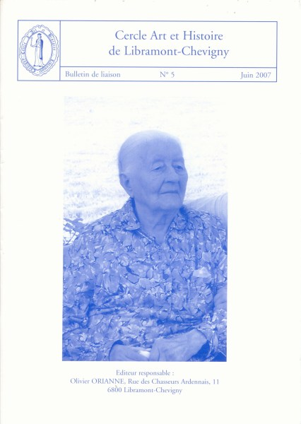 Bulletin de liaison n°5 – Juin 2007