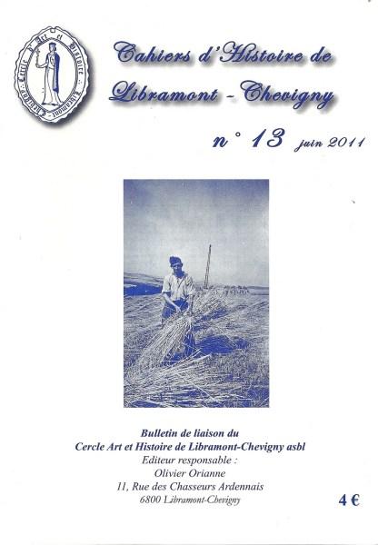 Cahier d'histoire de Libramont n°13 - Juin 2011