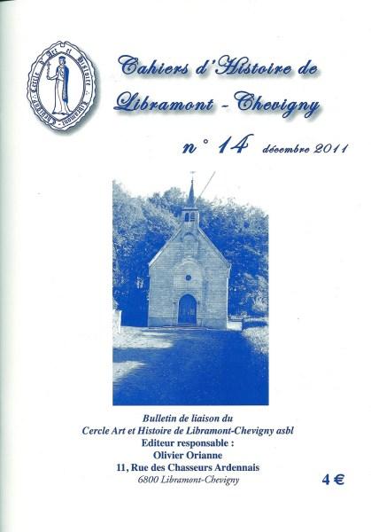 Cahier d'histoire de Libramont n°14 -Décembre 2012