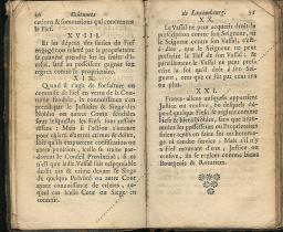 Coutumes Générales des Pays Duché de Luxembourg pages 30 - 31