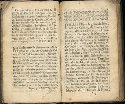 Coutumes Générales des Pays Duché de Luxembourg pages 4 - 5