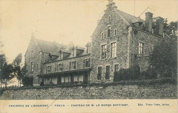 Freux - Château du baron Goffinet - Collection Christian Giboux