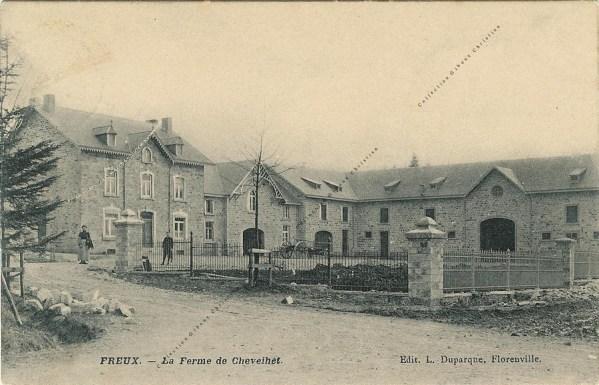 Freux - La Ferme de Chevrihet - Collection Christian Giboux