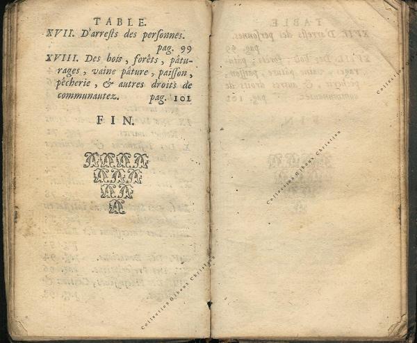 Coutumes Générales des Pays Duché de Luxembourg pages 116 - 117