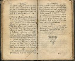 Coutumes Générales des Pays Duché de Luxembourg pages 76 - 77