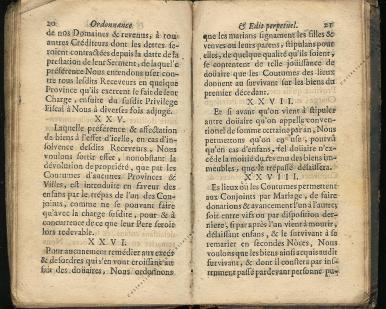 Ordonnance et Edit perpétuel des Archiducs pages 20 - 21