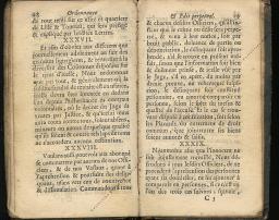 Ordonnance et Edit perpétuel des Archiducs pages 28 - 29