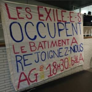Occupation de Paris 8 par des migrants