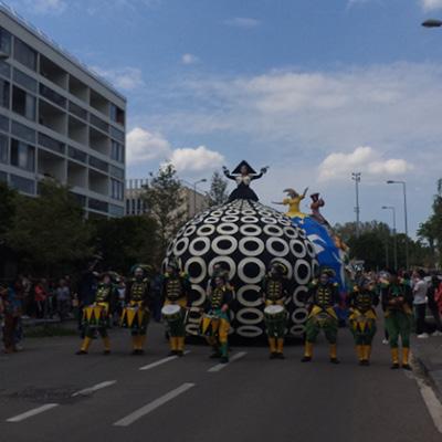 Projet collectif artistique : Le Balabar Danse avec (é)moi Parade Métisse Migrant'scene Les Nuits d'Orient