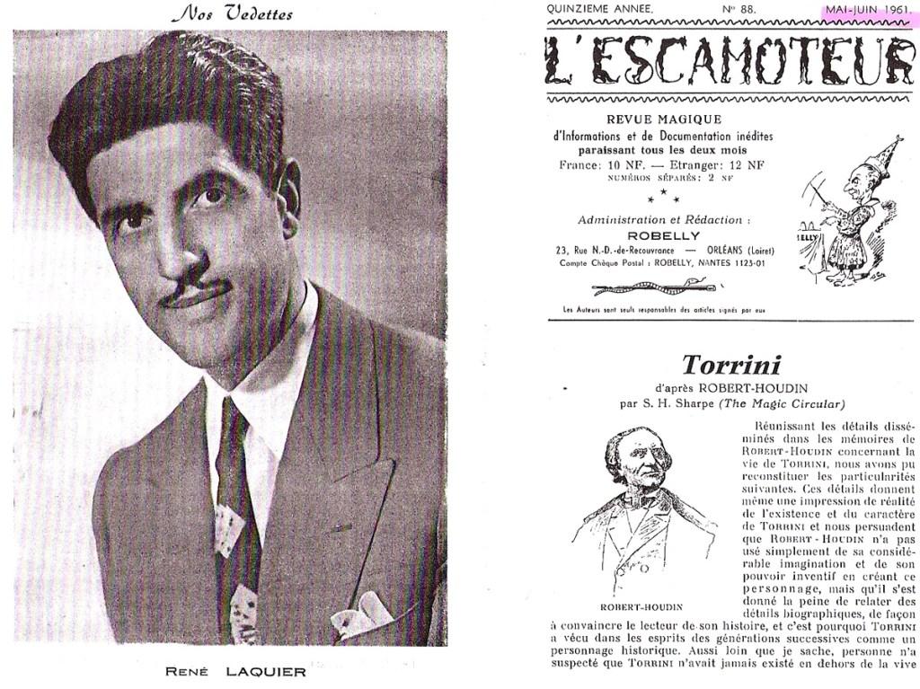 René Laquier - L'escamoteur