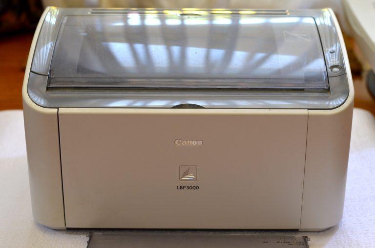 Una stampante Canon laser