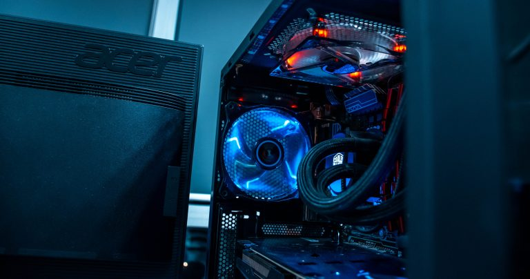 Interno di un PC gaming