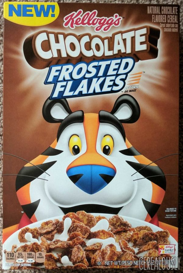 2017 Chocolate Frosted Flakes Cereal REVIEW!