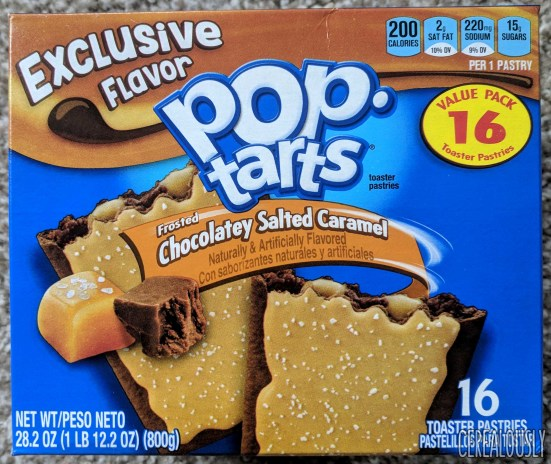 Image result for pop tarts chocolate caramel
