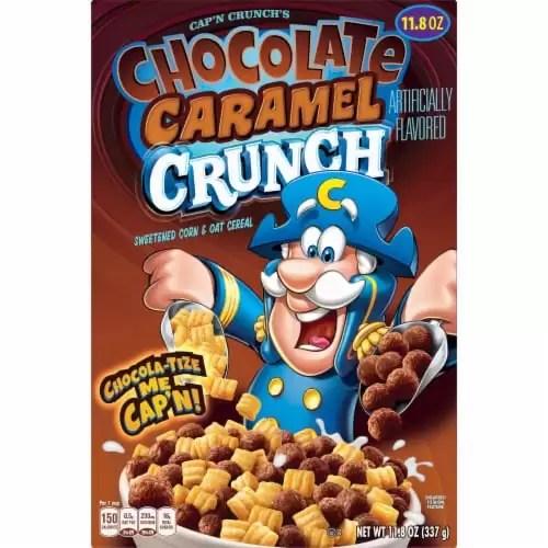 News: Cap'n Crunch's Chocolate Caramel Crunch + Churro Bites!
