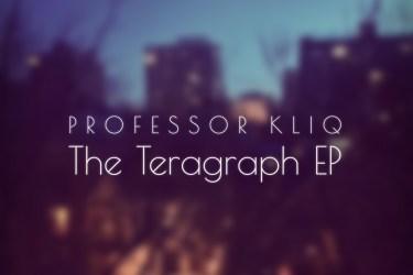 Professor Kliq -The Teragraph EP Cover
