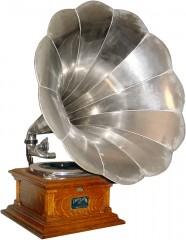 A Victor V phonograph, circa 1907