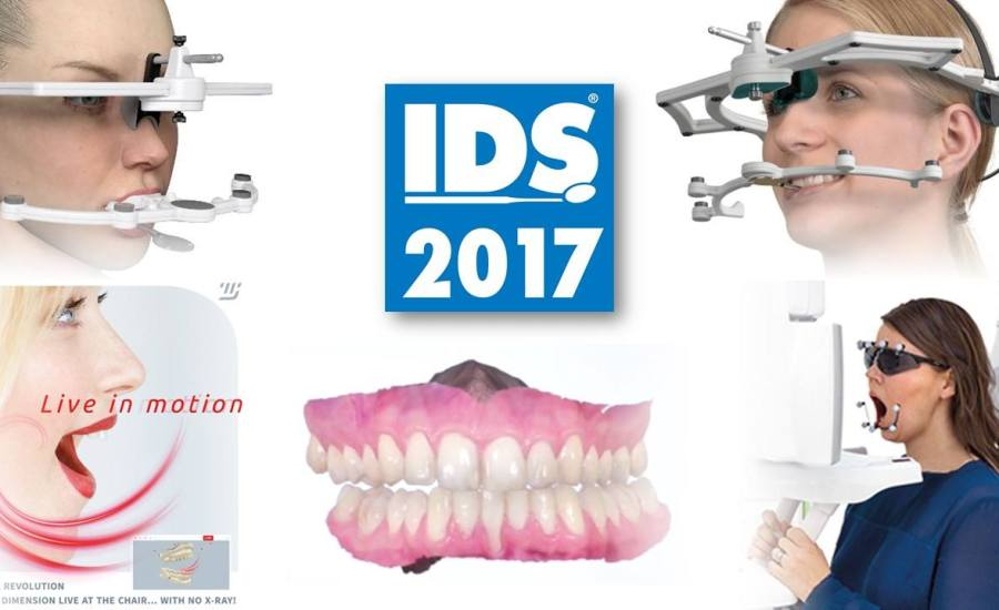 IDS 2017 實時下顎運動追蹤裝置 IDS 2017, Jaw motion tracking systems