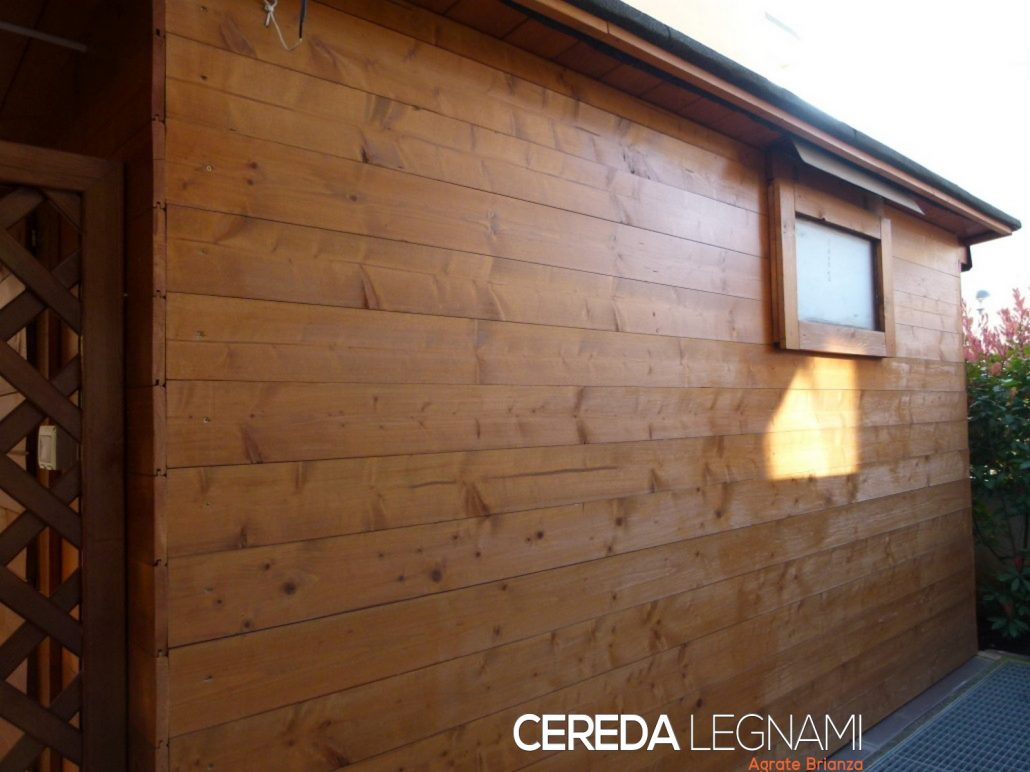 Perline in legno e rivestimenti  CEREDA LEGNAMI Agrate