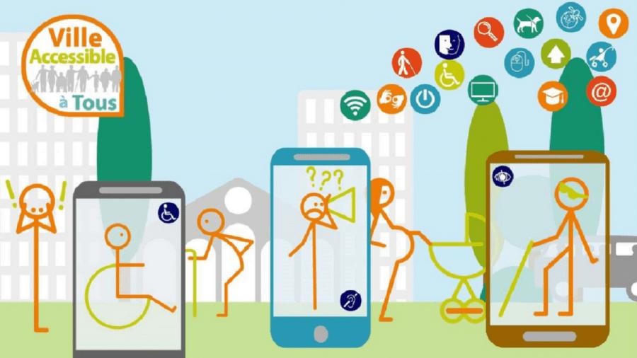 Smartphones avec données accessibilité