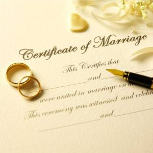 Las Vegas Marriage License Certificate-of-Marriage